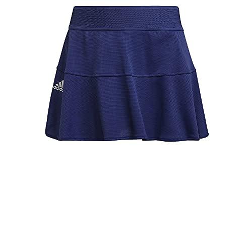 adidas Women's Standard Tennis Match Skirt, Victory Blue/White, Small