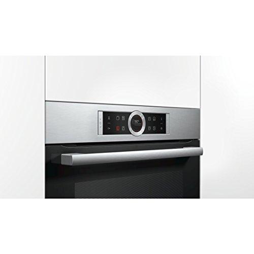 Bosch Serie 8 HRG635BS1 forno Forno elettrico 71 L 3600 W Nero, Acciaio inossidabile A+