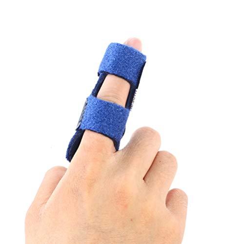 EXCEART 2 Piezas Dedo de Gatillo Tablit Soporte para Dedo Brace Dedo Manga Ajustable Dedo Completo Férulas para Dedos Rotos