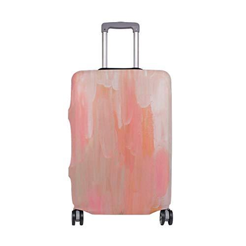 IUBBKI Funda para Equipaje de Viaje Serie Rosa Protector de Maleta con Graffiti de Pared Abstracta Se Adapta a M Fundas de Equipaje Lavables