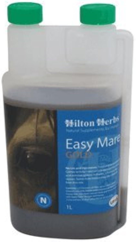 Hilton Herbs Easy Mare gold  Balances Nerves & Hormones For Horses & Ponies  1 Litre