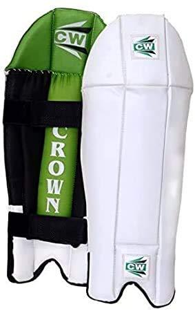 CW Coronas de Wicket, para hombre, tamaño completo, para mantener las piernas, protección para las piernas, protección para adultos y críquet para mantener las piernas