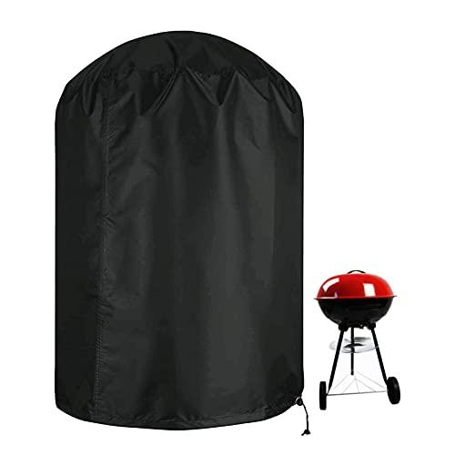 XHDZSW Funda para Barbacoa,Funda para Barbacoa Impermeable, Cubierta BBQ De Parrilla 210D Oxford Protector, para Barbacoa Anti-Viento/UV/Impermeabilidad (?71x56cm)