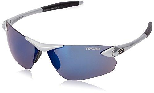 Tifosi Tifosi Optics Tifosi Seek FC Metallic Silver Sunglasses - Smoke Blue