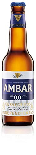 Cerveza Ambar 0.0 25 cl pack 24 botellines