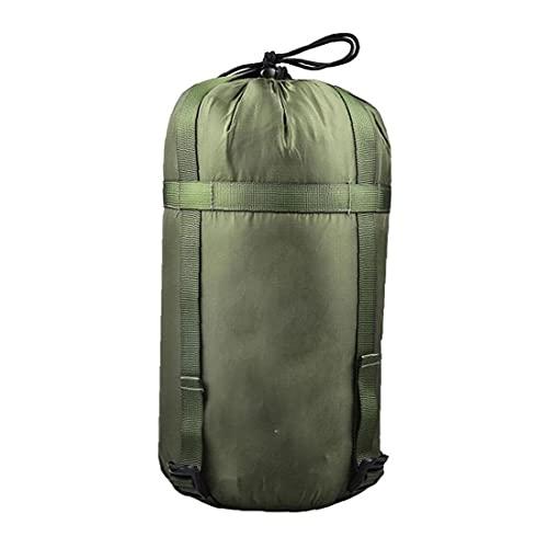 Liadance Saco De Dormir Ligero Bolsa De Almacenamiento De La Materia Saco Impermeable Bolsa De Transporte para Camping Viajar Senderismo con Mochila Verde del Ejército