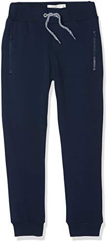 NAME IT Jungen NKMHONK BRU SWE Pant NOOS Hose, Grau (Dark Sapphire), (Herstellergröße:128)