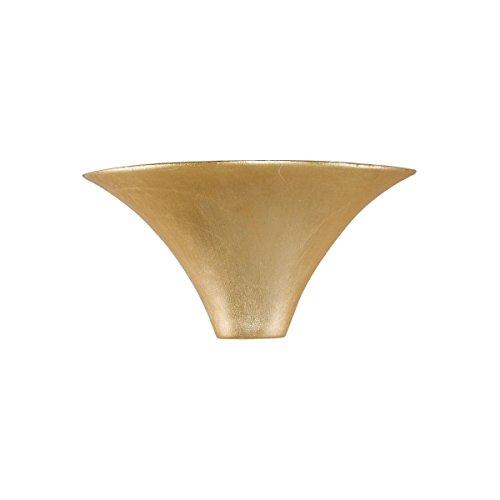 Kolarz Céramique Appliques Murales/Cardin en Feuille d'or | Fait à la main Fabriqué en Italie | Applique moderne