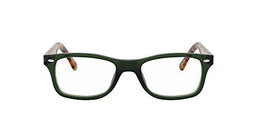 Ray-Ban Damen RX5228 Brillengestell, Grün (Opal Green), 53