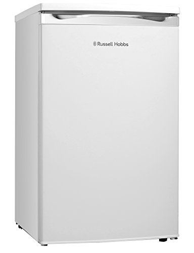 Russell Hobbs RHUCFZ3W White Under Counter 50cm Wide Freestanding Freezer, Free 2 Year Guarantee