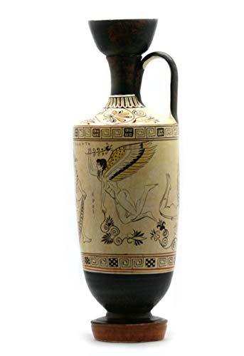Atalanta Lekythos EROS Dioses del Amor Jarrón de cerámica griega antigua copia