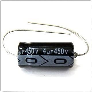 MIEC Qty 22 4UF 450V New 105C Axial Electrolytic Capacitors