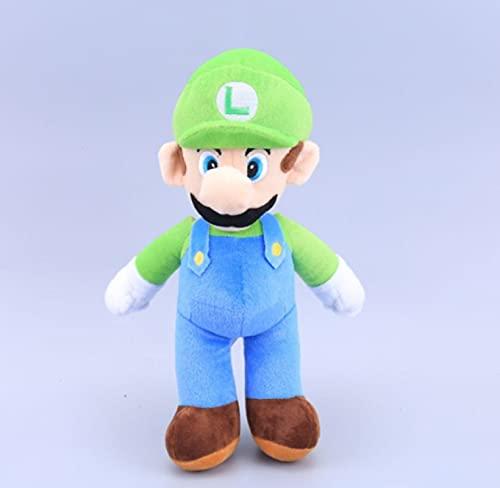adfw Figuras De Super Mari Mario, Muñecos De Peluche De Setas, Popularidad Creativa, Juguetes De Peluche para Niños, Juguete De Regalo, 35 Cm