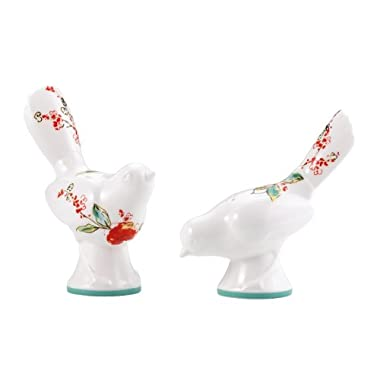 Lenox Simply Fine Chirp Figural Salt and Pepper Shaker Set