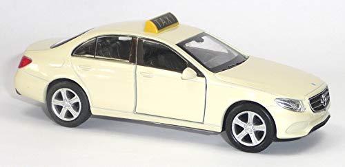 generisch Mercedes Benz E-Klasse Taxi Beige Modellauto Auto Maßstab 1:34 (lizensiert)
