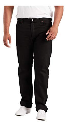 Levi's 501 Original Fit Jeans, Nero Lucido, 40W / 36L Uomo