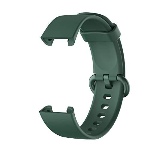 Leiouser - Correa de silicona compatible con Xiaomi Mi Watch Lite, versión global, compatible con reloj inteligente Red-mi Watch Mi Watch Lite.