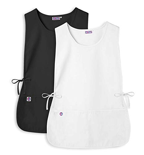 with 2 Pockets // Adjustable Ties 3 Pack 7023 KKI R Available in 30 Colors Adar Unisex Cobbler Apron