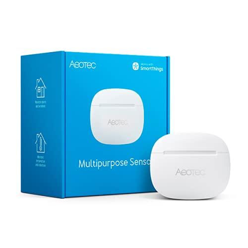 Aeotec SmartThings Door/Window Sensor, Multipurpose Sensor, Works with Smart Home Hub