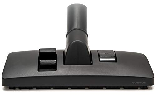 Premium 32mm umschaltbare Kombidüse, Staubsaugerdüse Bürste Bodendüse für AEG, Numatic, Philips und Zentralstaubsauger, einsetzbar auf Parkett, Teppich, Laminat, PVC, Fliesen