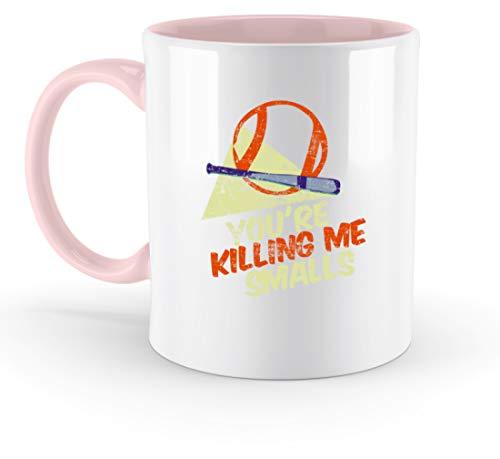 You're Killing Me Smalls - Zweifarbige Tasse -330ml-Puder Rosa