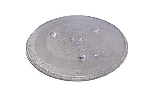 315/mm universel Verre Lisse Plateau tournant pour fours micro-ondes avec 3/de fixation 315/mm