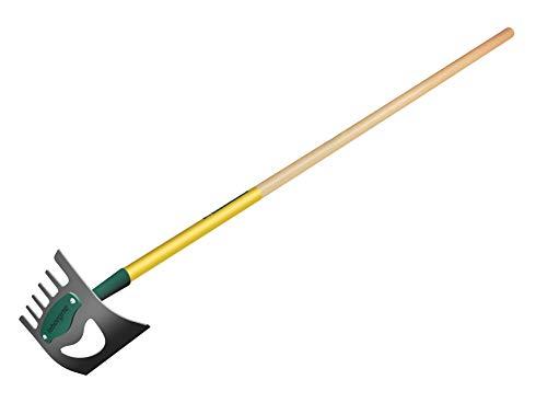 Leborgne Binette NaturOvert, Désherbage et préparation du sol, Écologique et ergonomique, Idéal pour la préparation du potager, Poids: 1,1 kg, Acier trempé