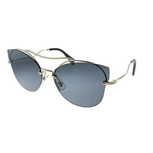 Miu Miu Damen 0Mu52Ss Zvn1A1 62 Sonnenbrille, Gold (Pale Gold/Grey)