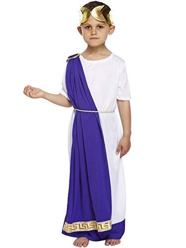 Niños Romano Emperador Disfraz - 10-12 years