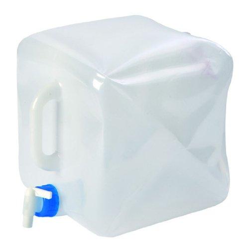 Bo-Camp - Jerrycan - Avec robinet - Pliable - 15 Litre
