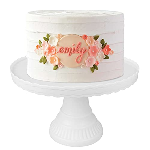 Round Cake Stand Antique Cake Holder 13in Cupcake Stands for...