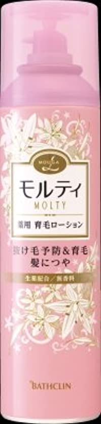 問い合わせる不快繁雑バスクリン モウガ L モルティ 薬用育毛ローション 180g 医薬部外品 MOUGA MOLTY×24点セット (4548514515406)
