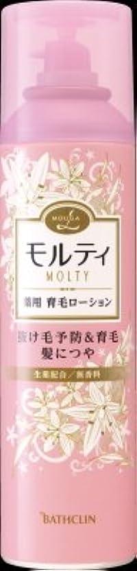 翻訳者晩ごはん基本的なバスクリン モウガ L モルティ 薬用育毛ローション 180g 医薬部外品 MOUGA MOLTY×24点セット (4548514515406)