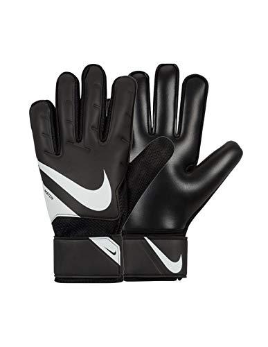 Nike NK GK Match JR-FA20, Guanti da Calcio Unisex Bambini, Black/White/(White), 4