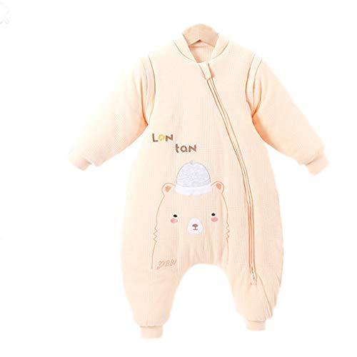 Slaapzak voor pasgeborenen van katoen, afneembare mouwen, beslaat de meisjes van de baby, babydeken, kinderwagendeken of wieg.