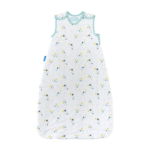 The Gro Company Starry Night 2.5 Tog Wash & Wear Twin Pack Grobag, 18-36 Months