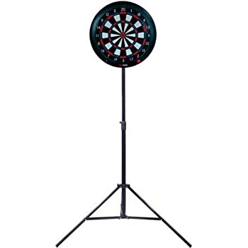 GRAN Darts Portable Tripod Dart Board Stand Board 3 and Steel Tip
