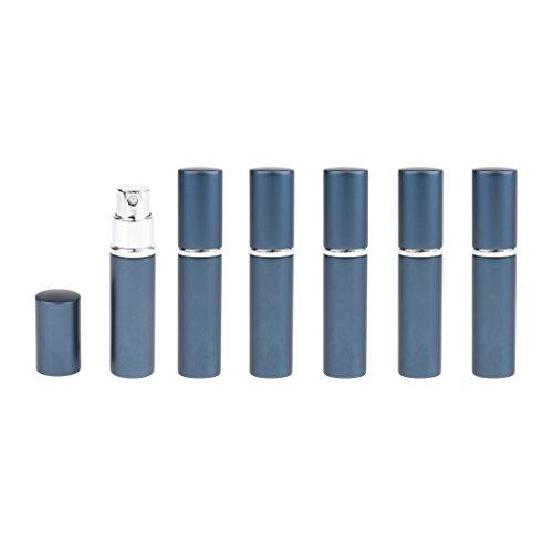 Sharplace 6pcs Flacons Atomiseur Bouteille Parfum Pompe Spray 10ml Bouteille Vaporisateur Portable - Bleu
