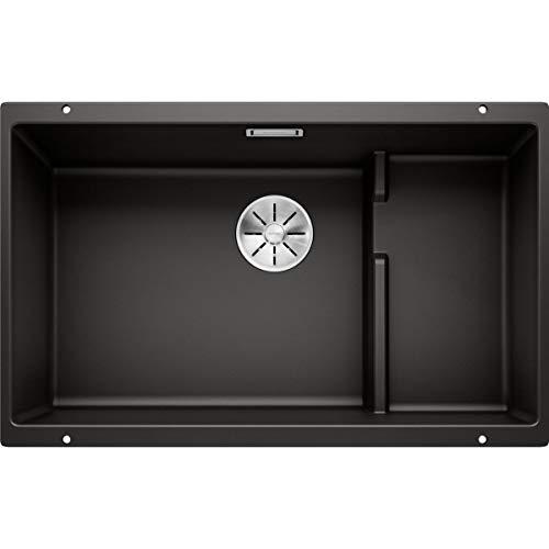 BLANCO 526003 Fregadero de cocina, Negro, 700mm Level