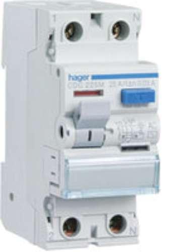 Hager tipo ac - Interruptor diferencial 300ma 2 polos 100a selectivo