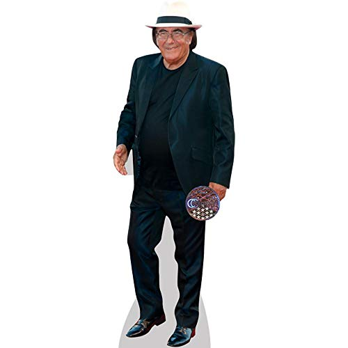 Albano Carrisi (Black Suit) a grandezza naturale
