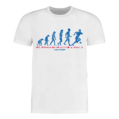 LAOLAFEVER® Fußball T-Shirt Human Evolution I Größen S - 3XL I A BRAYCE® Collaboration (Fan Trikot mal Anders) (M)