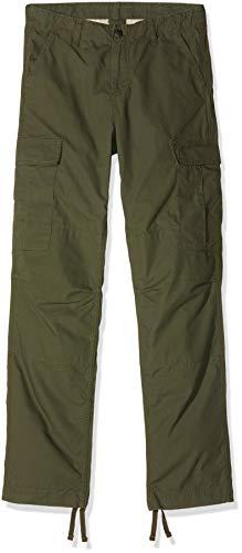 Carhartt Herren Jeans Regular Cargo Pant Grün (Cypress Rinsed) 34