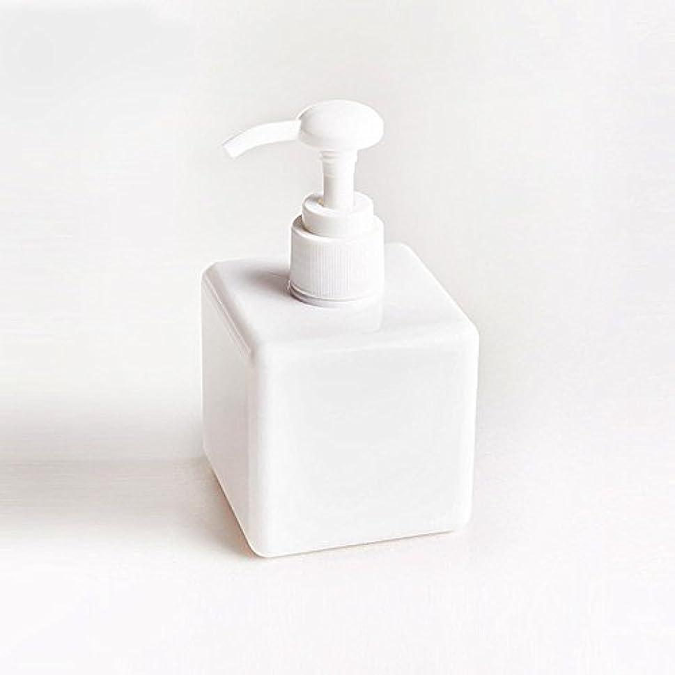 Ruier-tong 250ml おしゃれ ディスペンサーボトル  詰め替えボトル ポンプボトル 乳液入れ 空ボトルポンプ トラベルボトル  液体用空ボトル 小分けボトル 液体容器 旅行 ホテル 浴室用 シャンプー コンディショナー ボディソープ 化粧品用 クリア ホワイト