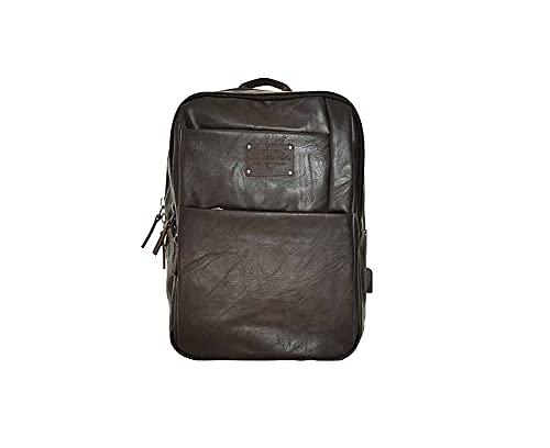 Avirex Collezione Buffalo, Zaino per PC Portatili, Backpack, Borsa Uomo, Colore Marrone