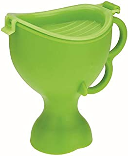 TT WARE Portable Children Urinal Toddler Standing Potty Pee Pot Camping Car Travel Emergency Toilet-Green