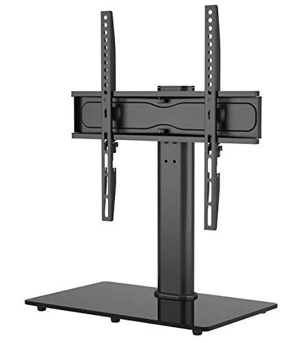Ruosaren Soporte de TV orientable para televisores de plasma LCD LED OLED de 26 a 55 pulgadas de hasta 45 kg, altura regulable y estable máx. VESA 400 x 400