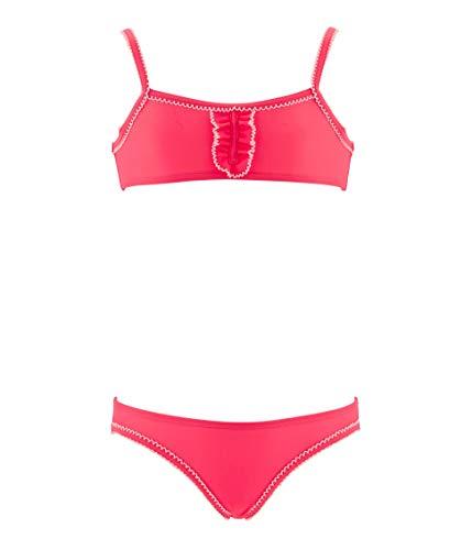 Petit Bateau Mädchen Bautbas Badeanzug, Pink (Cupcake 01), 110