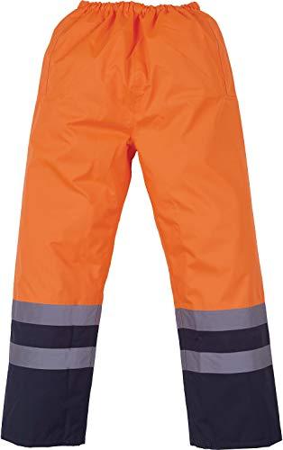 YOKO Veste de yk072/hvp463 Surpantalon Imperméable Haute visibilité XL Orange/Bleu Marine