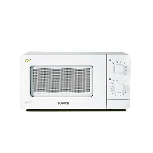 Tower QT1T Manual Control Microwave Oven with Dual Wave...